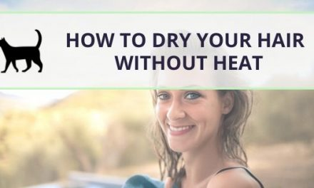 How to dry hair without heat