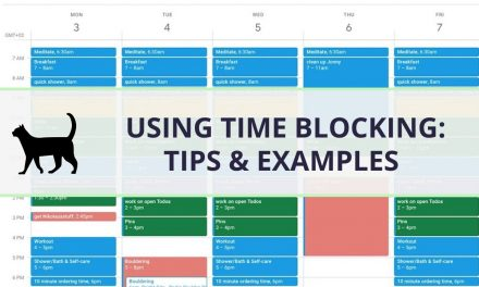 How to use Time blocking for better productivity