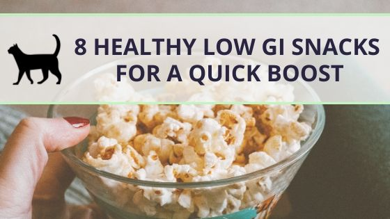 8 low GI snacks for a quick energy boost