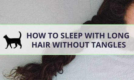 How to sleep with long hair (and not get it tangled!)