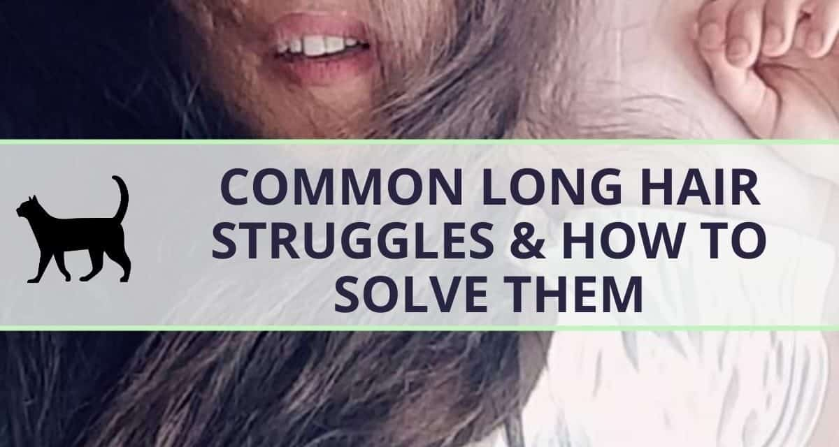 How to easily solve these long hair struggles