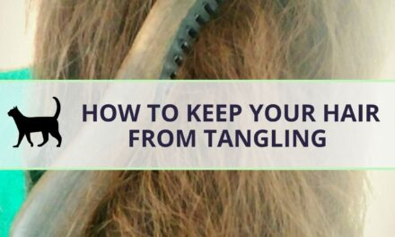 How to keep hair from tangling throughout the day & night