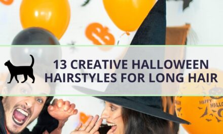 13 creative Halloween hairstyles for long hair (Step by step)